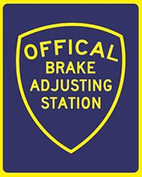 Official Brake Adjusting Station for California